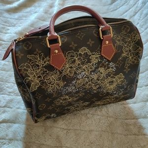 Louis Vuitton Dentelle speedy 30(Authentic)